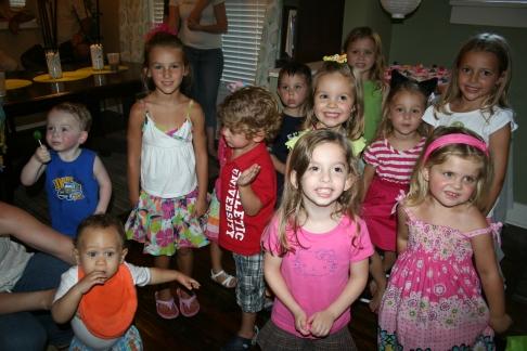 Sara's 5th birthday 10
