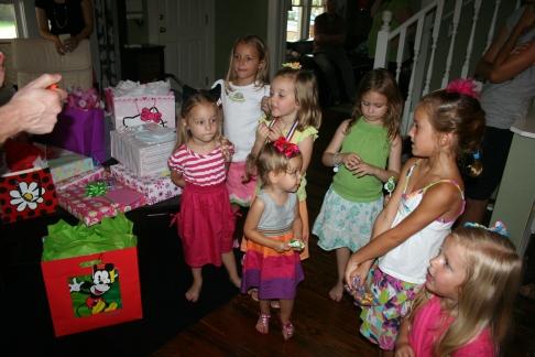 Sara's 5th birthday 1
