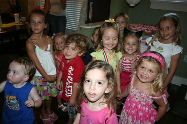 Sara's 5th birthday 8