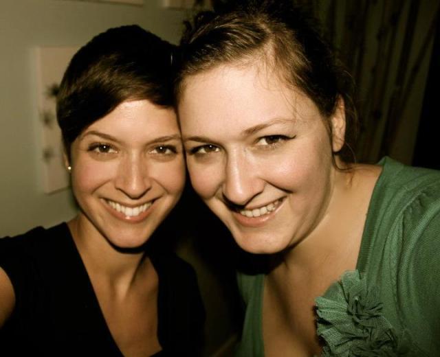 Crystal and Lorena