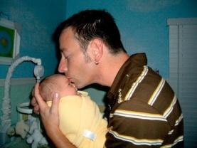 Doug with baby Sara