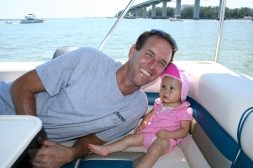 1st trip on the boat
