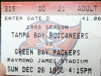 Green Bay Packers Ticket