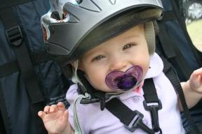 1st bike ride