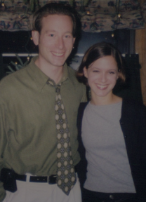 Dec. 29, 1999, our first date and Doug's 30th birthday