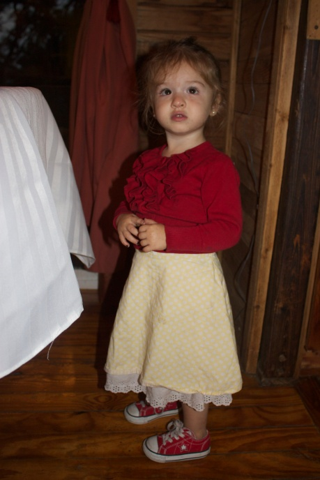 Lilli 1st birthday