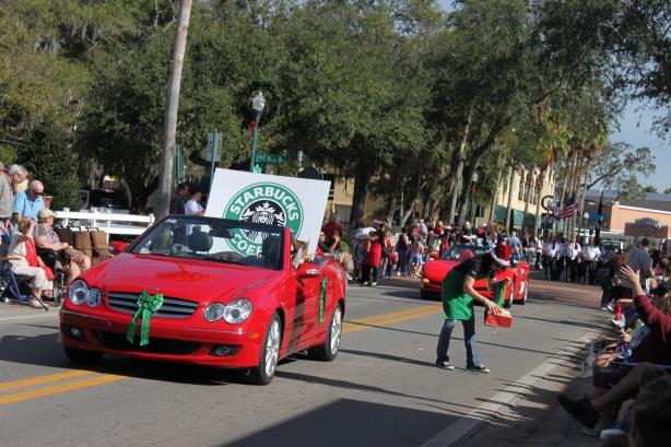 Holiday parade
