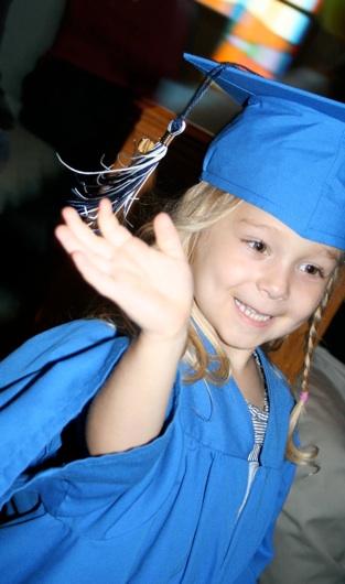 Sara's Preschool Graduation