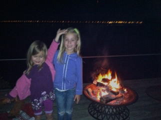 fire on the dock