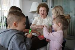 Gigi and kids