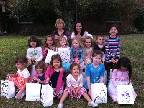 Sophie's preschool class