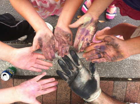 Chalk Festival downtown