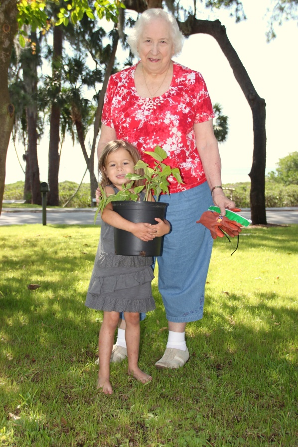 gardening with Nona