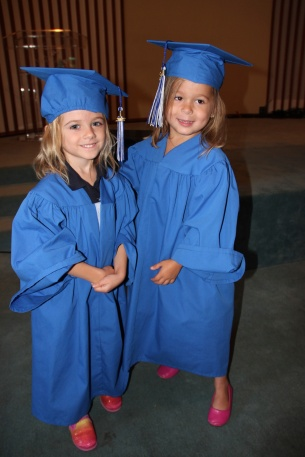 Sophie's preschool graduation