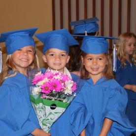 Sophie's preschool graduation
