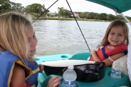 paddle boating