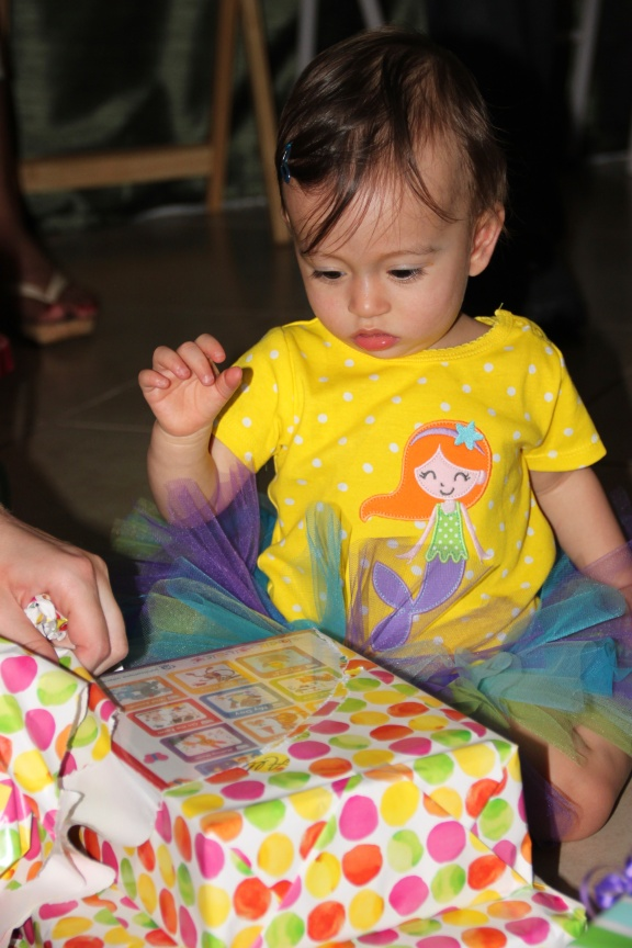 Allie turns 1