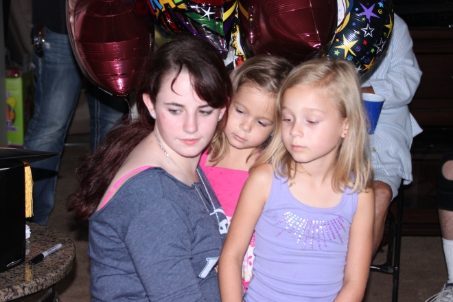 Savannah and the girls