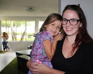 The girls nanny, Savannah