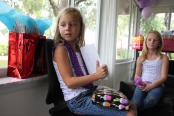 Sara's 8th birthday party