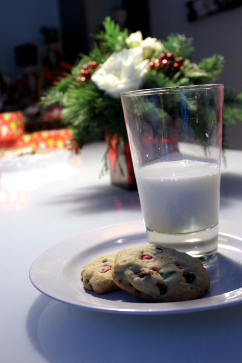 cookies for Charles and Santa