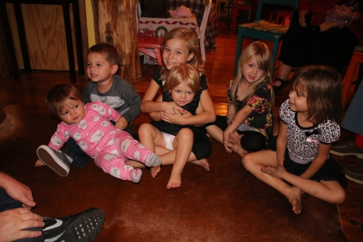 Audrey, Frankie, Lilli, Sara, Molly and Sophie