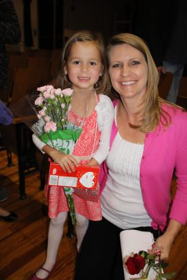 Sophie's teacher Mrs. Blood