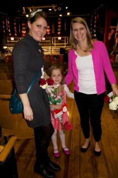 Sophie's two favorite kindergarden teachers.