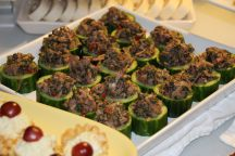thai beef cucumber cups