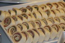roast beef arugula horseradish rolls