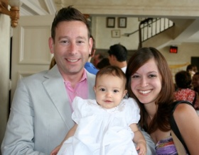 Our sweet goddaughter Harper