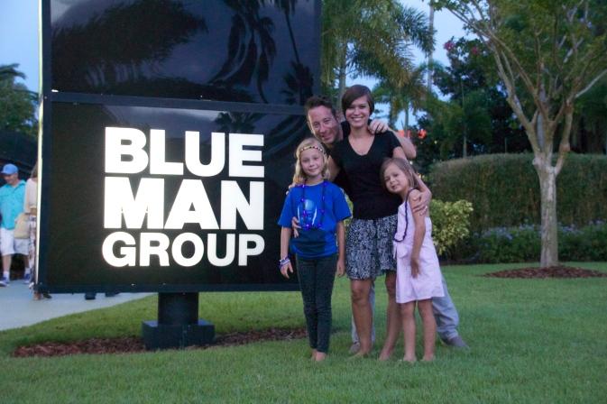 Blue Man Group 2014