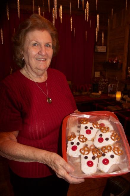 Gigi reindeer cookies
