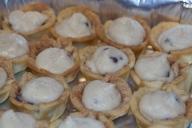 Kristen's homemade cannoli's