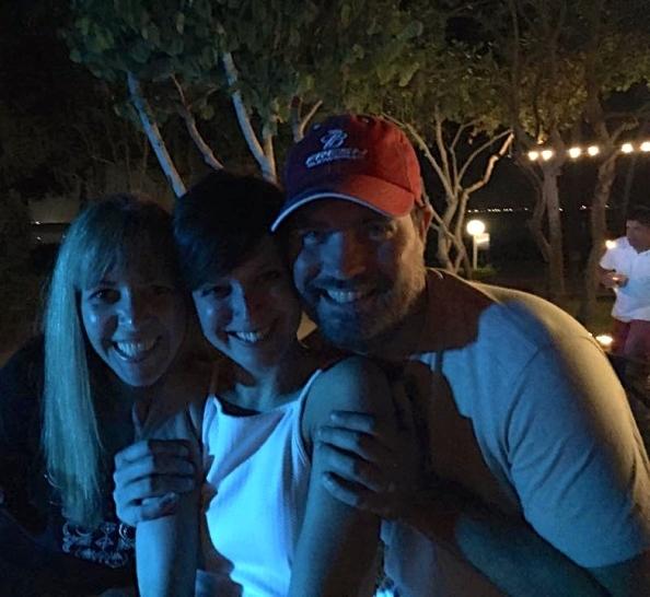 with Lori Jessen and Rick Blake