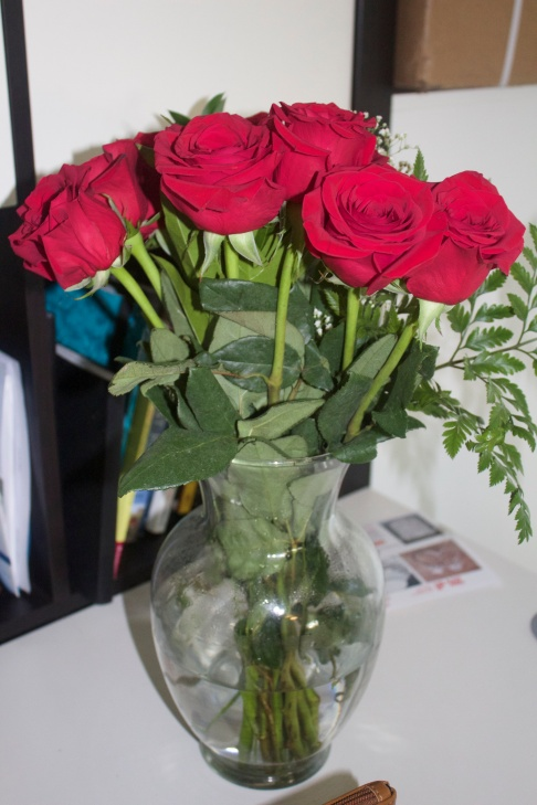 Roses from my love