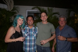 Courtney, Steve, Thomas and Ted
