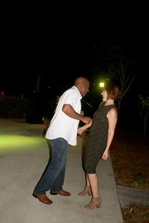 hot couple on the dance floor
