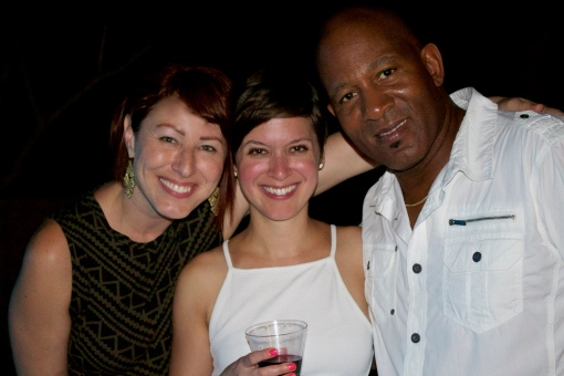 with Mel and Trev