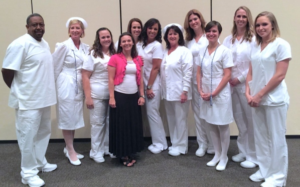 my clinical group and wonderful friends.