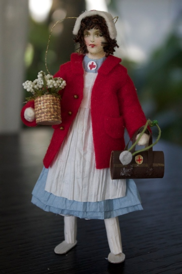 Handmade doll, made by Sus my beautiful friend and neighbor