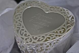 Jewelry box from Suzie, Jim and Savannah