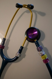 Blinded out stethoscope from Zoe