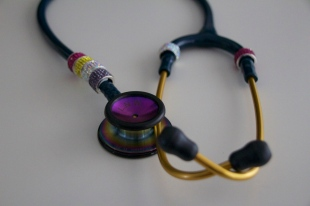 blingy stethoscope from Zoe and Clayton