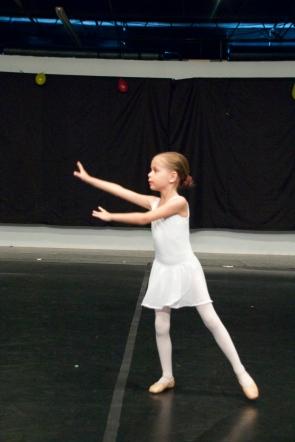 Sophie's ballet recital