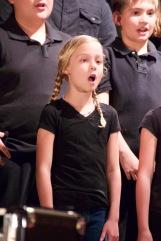Sara's Christmas performance.