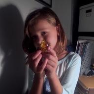 Treasures from Third Friday Night. Amber