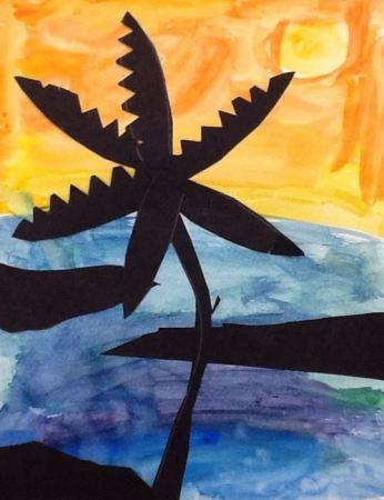 Sophie's Art 3rd grade- age 9