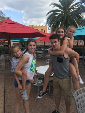 Visit with the Thomas' 2017 8